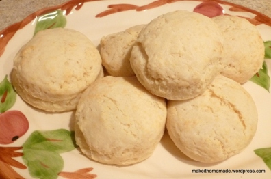 Light & Tender Buttermilk Biscuits | Make it Homemade