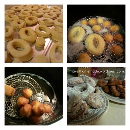 donut collage
